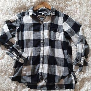 3/$30-Old Navy Plaid Shirt